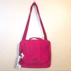 🆕NWT Kipling Pink Lunch Bag Crossbody w/ Keychain